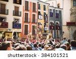 cuenca  spain   march 29  2015  ... | Shutterstock . vector #384101521