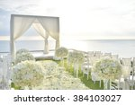 wedding set up | Shutterstock . vector #384103027