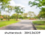 abstract blur city park bokeh... | Shutterstock . vector #384136339