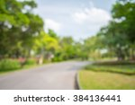 abstract blur city park bokeh... | Shutterstock . vector #384136441