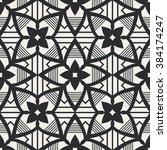 seamless geometric pattern | Shutterstock .eps vector #384174247