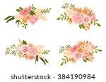 hand drawing flowers clip art | Shutterstock . vector #384190984