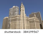 Wrigley Building In Chicago...