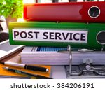 post service   green office... | Shutterstock . vector #384206191