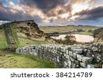 Hadrian's Wall Above Cawfield...