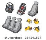 illustration of various car...   Shutterstock .eps vector #384241537