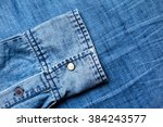 blue jeans background with... | Shutterstock . vector #384243577