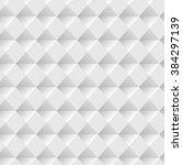 white seamless geometric... | Shutterstock .eps vector #384297139