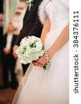 wonderful luxury wedding... | Shutterstock . vector #384376111
