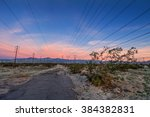Powerlines Above  Desolate...