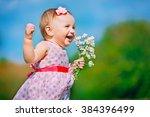 Beautiful Little Girl Playing...