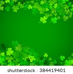 st patrick's day background.... | Shutterstock .eps vector #384419401