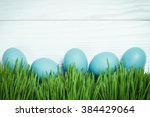 Easter Concept With Colorful...