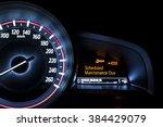 car speedometer with...   Shutterstock . vector #384429079