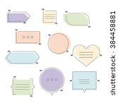 modern vector illustration of... | Shutterstock .eps vector #384458881