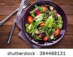 Fresh Salad With Chicken ...