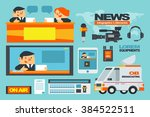 vector illustration about news...