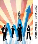 global business concept | Shutterstock .eps vector #38452852