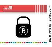 bit coins design  | Shutterstock .eps vector #384529399