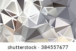 abstract pattern consisting of... | Shutterstock .eps vector #384557677