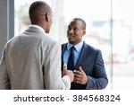 successful african american... | Shutterstock . vector #384568324