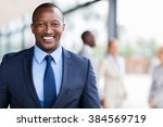smart african american business ... | Shutterstock . vector #384569719