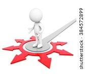 3d dummy arrow | Shutterstock . vector #384572899