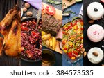 cuisine of different countries. ... | Shutterstock . vector #384573535