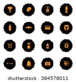 boxing vector icons for web... | Shutterstock .eps vector #384578011
