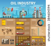 oil industry vector... | Shutterstock .eps vector #384604594