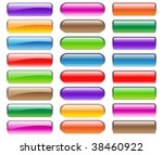 colorful buttons for your... | Shutterstock .eps vector #38460922
