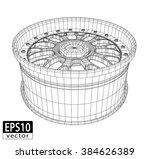 car alloy   eps10 vector | Shutterstock .eps vector #384626389