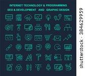 vector internet technology and...   Shutterstock .eps vector #384629959