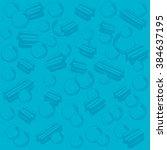 vector bubblegum illustration | Shutterstock .eps vector #384637195