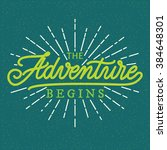poster  hand lettering ...   Shutterstock .eps vector #384648301