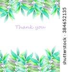 a template of a postcard  frame ... | Shutterstock . vector #384652135