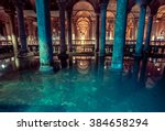 Basilica Cistern Is The Larges...