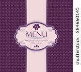 menu template for restaurants ... | Shutterstock .eps vector #384660145