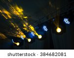 Stage Lighting Rig With Moving...