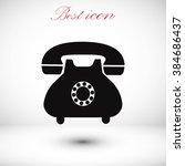 phone icon | Shutterstock .eps vector #384686437