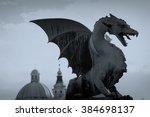 Dragon Statue Ljubljana...