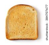 Sliced Toast Bread Isolated On...