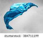abstract pieces of fabric... | Shutterstock . vector #384711199