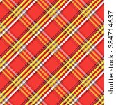 fabric with diagonal lines... | Shutterstock .eps vector #384714637