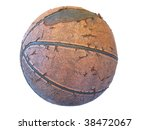 old basketball | Shutterstock . vector #38472067