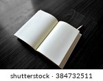 open book | Shutterstock . vector #384732511