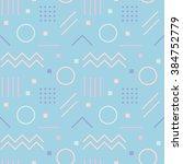 vector texture of geometric... | Shutterstock .eps vector #384752779