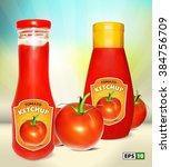 ketchup. | Shutterstock .eps vector #384756709