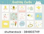 Cute Square Cards  Notes And...
