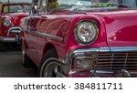 havana  cuba   circa february... | Shutterstock . vector #384811711